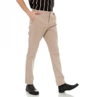 BlueButton Celana Panjang Chino Reguler Fit Chino Khaki