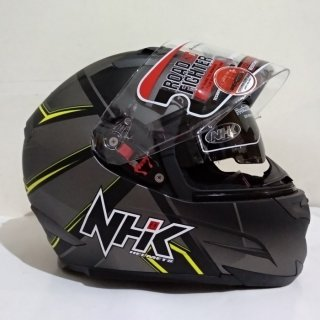 NHK RX9 Hawk Black Yellow Doff