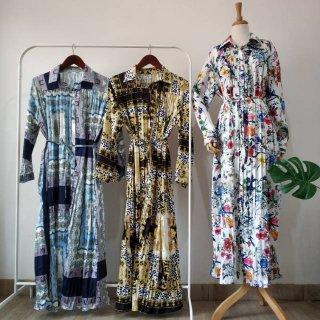 Gamis Long Dress Prisket Bangkok Import China