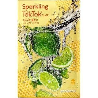 Peripera Sparkling Toktok Time Cool Lime Clearing Mask Sheet