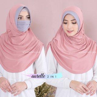 Aurelle Tuton Hijab Safety Mask Niqab Anti Corona