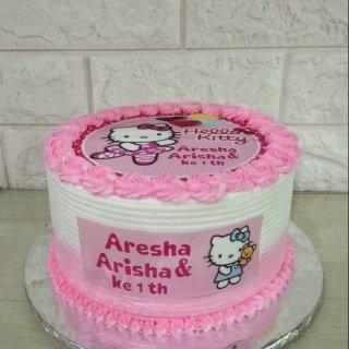 hello kitty / edible cake / kue ulang tahun / birthday cake
