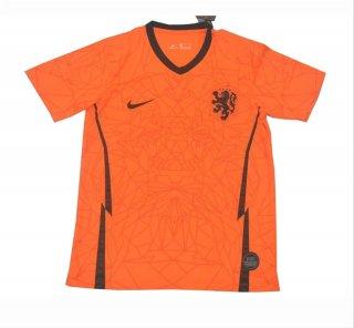 Jersey Bola Belanda Home Official Euro 2020