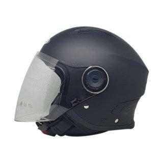 Helm Half Face Zeus ZS 617 Solid