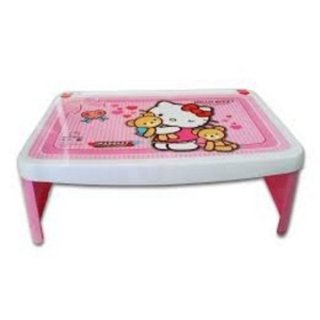 Meja Lipat, Lapdesk Plastik Napolly Karakter Hello Kitty
