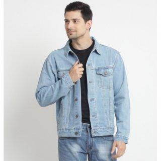 Edwin Jeans Jaket Jeans Unisex Manhattan 01 Slim Fit