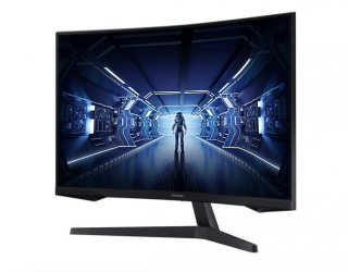 """Samsung 27"""" WQHD Gaming Monitor With 1000R Curved Screen"""