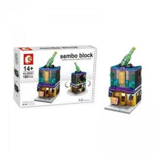 Funbrick Sembo SD6021 KTV House Mainan Blok & Puzzle