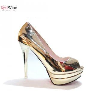 Red Wine J6688-3 High Heels Women