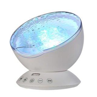 Lampu Tidur Proyektor Ombak Laut