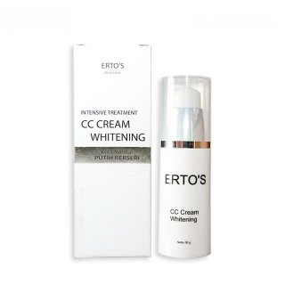 Ertos CC Cream Super Whitening Day Krim Pemutih Skin Care