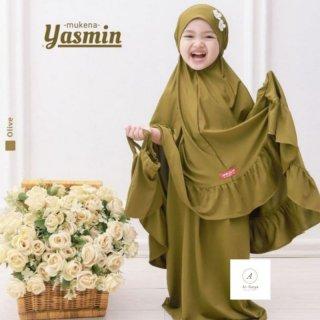 Mukena Anak Yasmin free tas cantik
