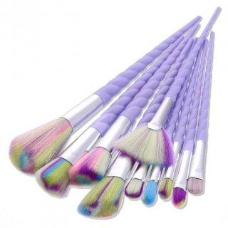Unicorn Brush Make Up 10 Set | Kuas Make up