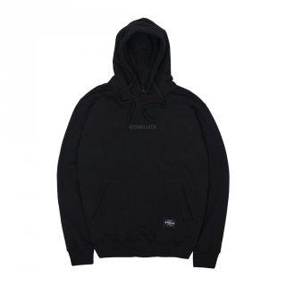 Dobujack Little Logo Black On Black Hoodie