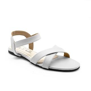 La Vita E Bella Boa Ankle Strap Sandal Flat Teplek