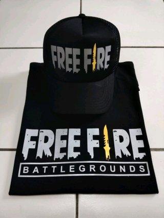 Kaos Free Fire Battlegrounds Bonus Topi