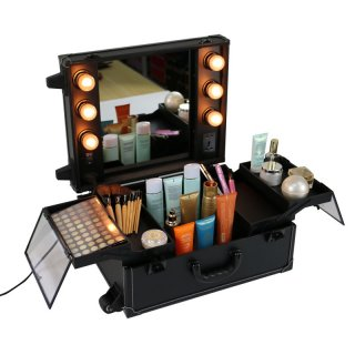 Seongnam Koper Makeup Troli Beauty Case
