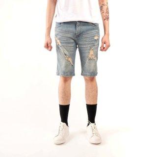 Brotherholic Celana Pendek Ripped Jeans Pria