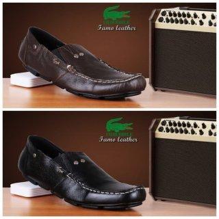 Sepatu Casual Formal Kantor Crocodile Famo