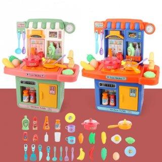 Mainan Anak Kitchen Set Spray Mist Mini 33pcs