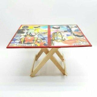 Meja Lipat Kayu Anak
