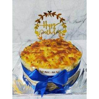 Kue ulang tahun macaroni schotel