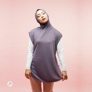 REYD - Hijab Olahraga Royal + Dark Violet
