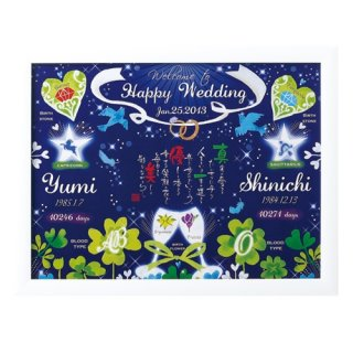 結婚のお祝いに 幸せの青い鳥をプレゼント♡