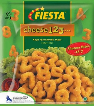 Nugget Cheese 123 Fiesta