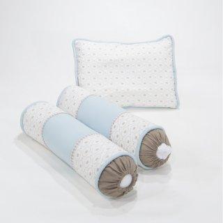 Cribcot Pillow Bolster Set Little Trunk