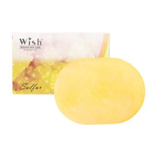 Wish Transparent Soap Sulfur