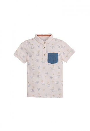 Gingersnaps Hunt & Gather Polo Pink
