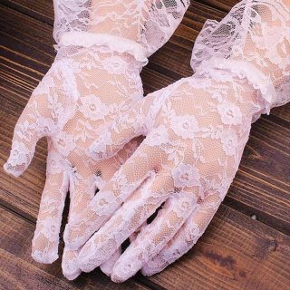 Sarung Tangan Lace untuk Pesta Pernikahan / Malam / Prom / Driving