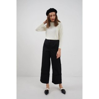 Berrybenka Sheren Cullotes Pants Black