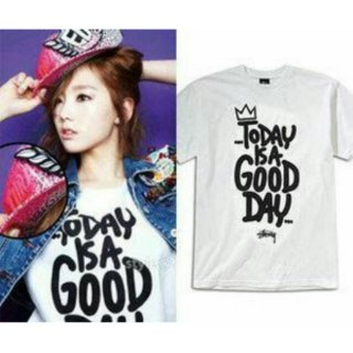 Kaos/T-Shirt/Baju SNSD/Girls Generation Taeyeon Today Is a Good Day