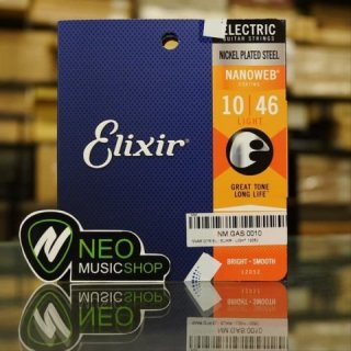 Senar Anti Karat Elixir Nanoweb Gitar Elektrik (10-46)