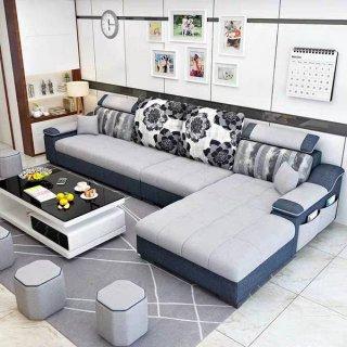 Sofa Ruang Tamu Minimalis L Shape Cantik