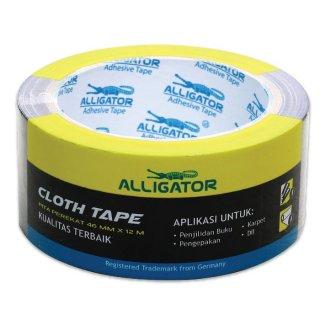 Alligator Cloth Tape Black 46 mm