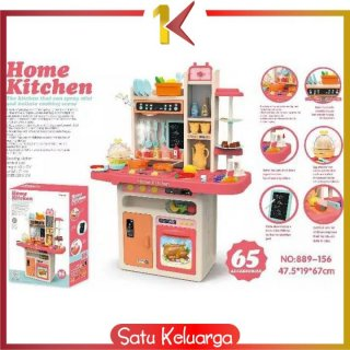 ONE-M24 Mainan Spraying Mist Kitchen Set Isi 65PCS