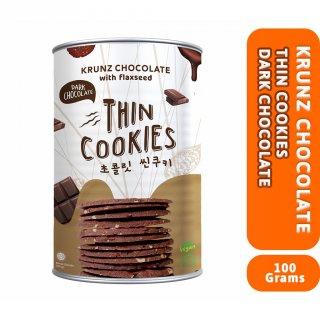 WoCA Thin Cookies Krunz Chocolate Dark Chocolate