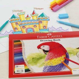 Buku Gambar A4 Parrot Faber Castell
