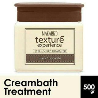 Makarizo Professional Texture Experience Cream Black Chocolate Pot 500 gr