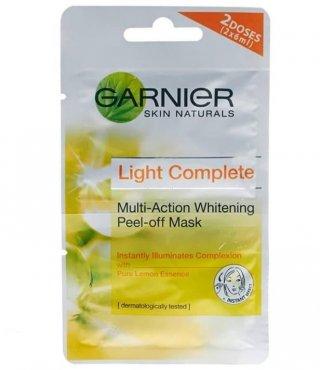 Garnier - Light Complete Multi Action Whitening Peel Off Mask