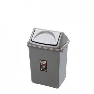 Tempat Kotak Sampah Segi Plastik Tutup Goyang 15 Liter Shinpo Classy 820 L