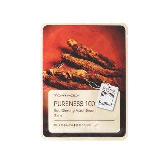 Tony Moly Pureness 100 Mask Sheet Ginseng