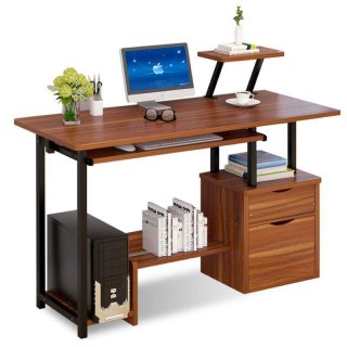 B&G Meja Computer Desk Model H2