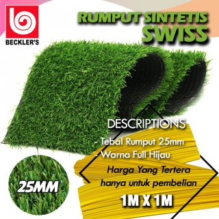 Rumput Sintetis Taman 25mm Type Swiss