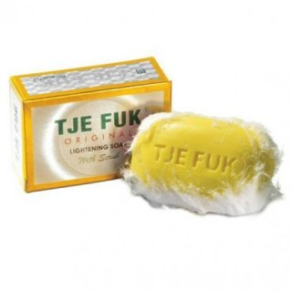 Tje Fuk Lightening Soap with Scrub
