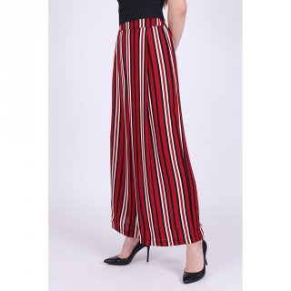 Magnolia Collection Stripes Culottes With Side Slit Motif 2
