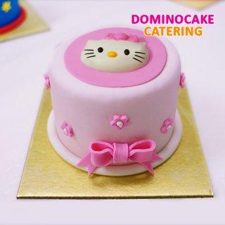 Mini Cake - cake ultah mini - kue ulang tahun hello kitty
